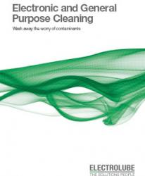 Electrolube Electronics & General Purpose Cleaning Brochure