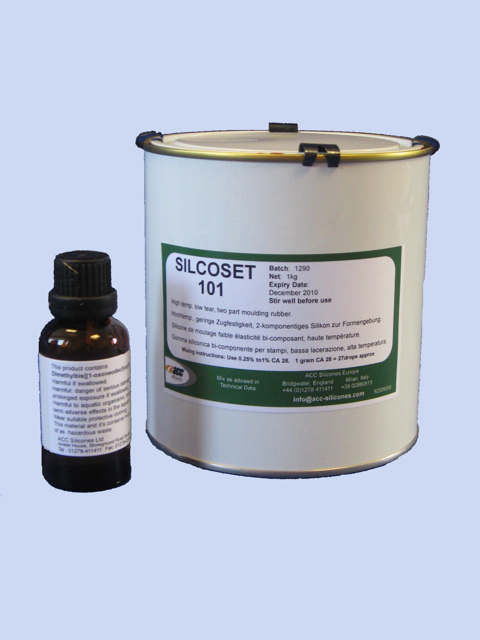 Acc Silcoset 101 Condensation Cure Silicone 5 05kg